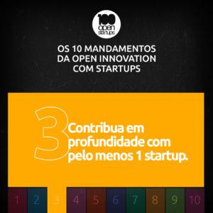 Mandamento 03: Contribua em profundidade com pelo menos uma startup