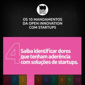 Mandamento 04: Saiba identificar dores que tenham aderência com soluções de startups